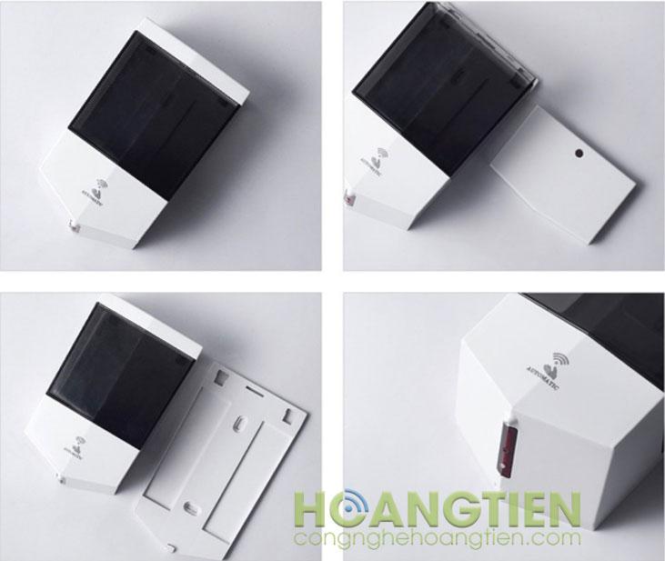 Bình xà phòng treo tường tự động XP7