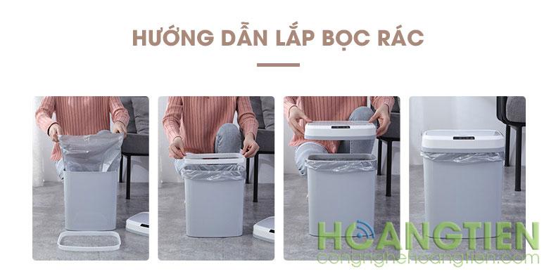 Thùng rác thông minh PD-6008